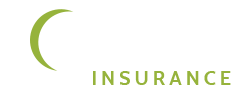 White and Lime Green Health Pro Insurance Logo